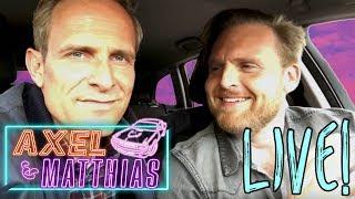 Das erste Mal  live...   Axel & Matthias