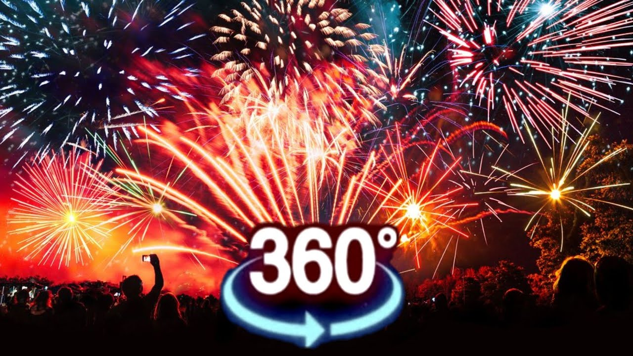 Cardboard VR 360 VIDEO 4K ★ FIREWORKS VR 花火 | XXL VIEW VIRTUAL REALITY VIDEO 360 degree 4K