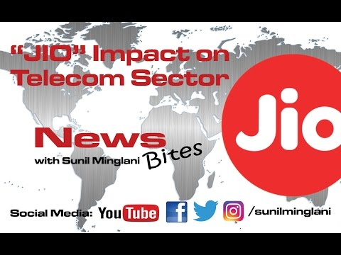 JIO Impact on Telecom Sector ( In Hindi) || News Bites || Sunil Minglani || Stock Market Education