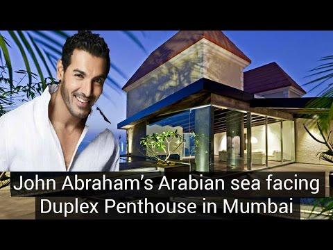 John Abraham's Arabian sea facing Duplex Penthouse in Mumbai : Villa In The Sky