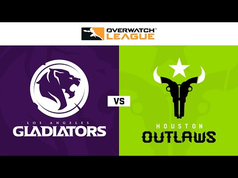 Los Angeles Gladiators vs Houston Outlaws | Week 20 | NA Day 1