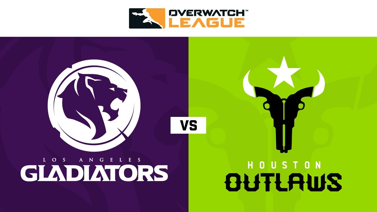 Los Angeles Gladiators Vs Houston Outlaws Week 20 Na Day 1 Youtube