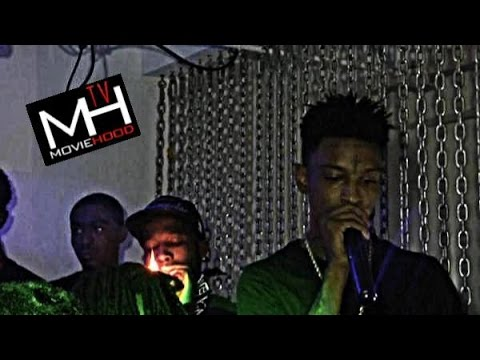 Exclusive 21 Savage & Shy Glizzy live in DC shot by MovieHoodTv