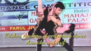 Hamma Salsa Dance choreography from Krishna Academy of performing dance