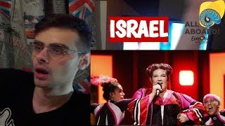 NETTA - TOY | ISRAEL EUROVISION 2018 SEMI FINAL 1 LIVE REACTION