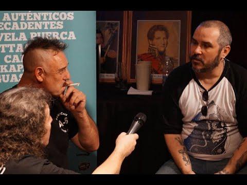 Entrevista con Ricardo Iorio (Almafuerte) y Ariel Minimal (Pez) antes del Baradero Rock 2016