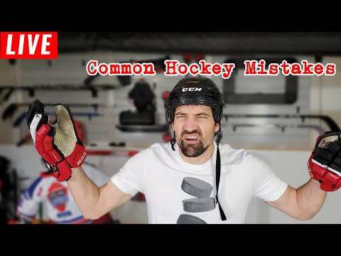 Common Hockey Mistakes