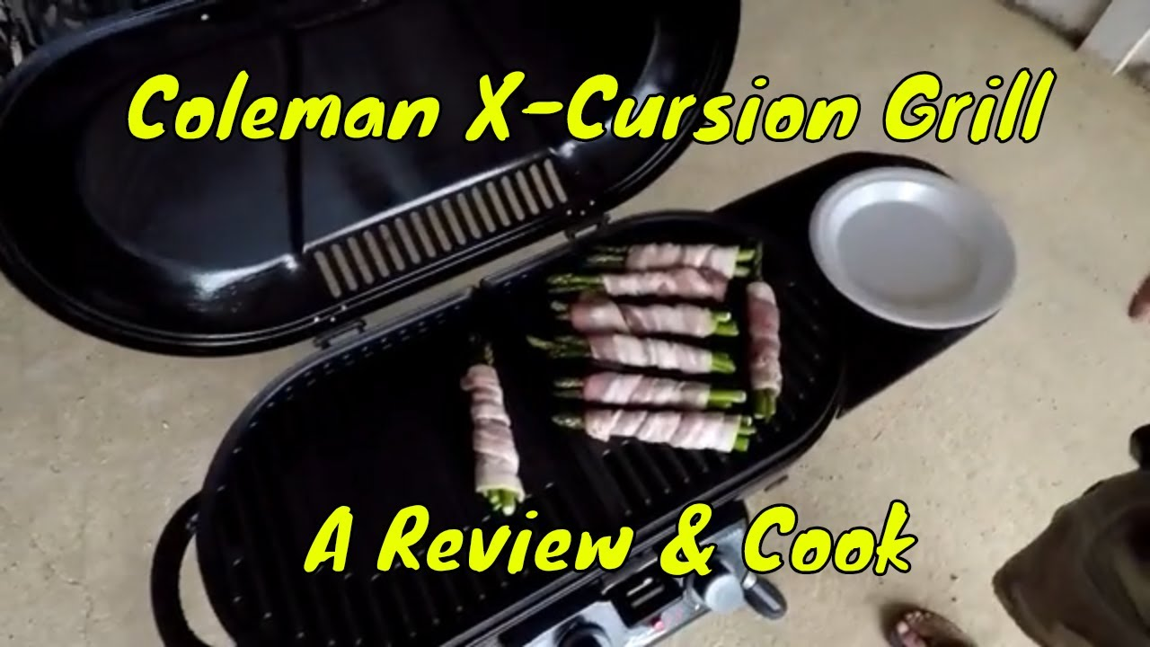 Coleman X Cursion Grill A Review Cook Youtube