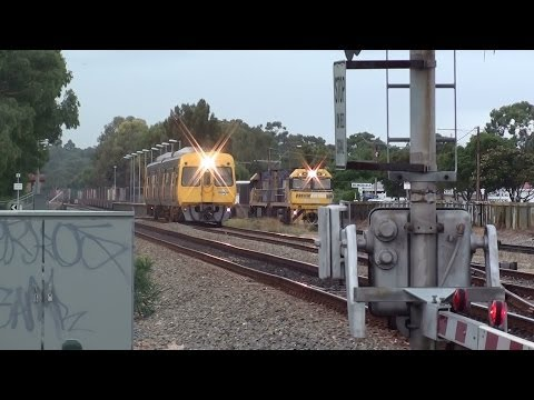 Pym St Rail Level Crossing in Dudley Park rated as Most Dangerous in South Australia Video 2014