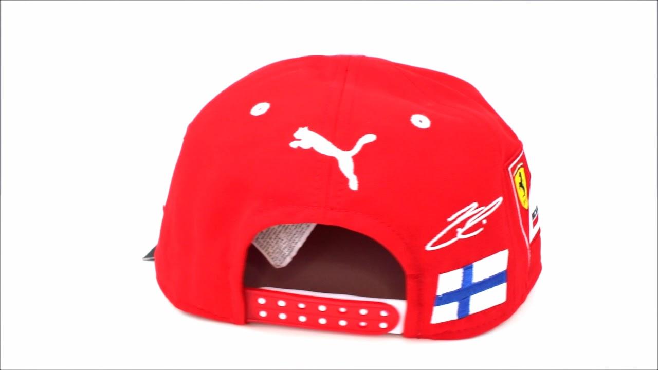 Gorra Plana Scuderia Ferrari Oficial 2017 Kimi Raikkonen - YouTube 35f7c8da1efc