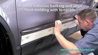 CRV Body Side Molding Installation (Honda Answers #6)