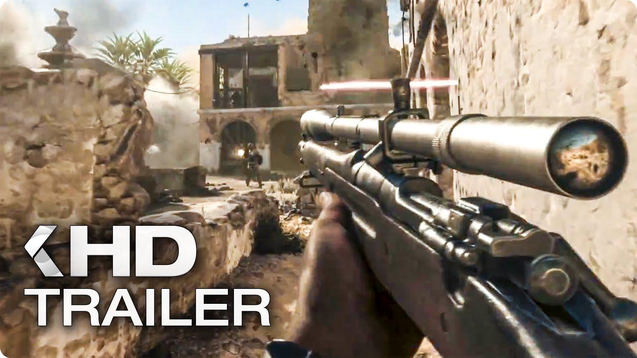 CALL OF DUTY: WWII United Front DLC Trailer German Deutsch (2018)