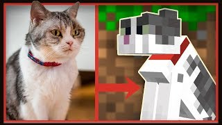My Cat Was Officially ADDED To Minecraft