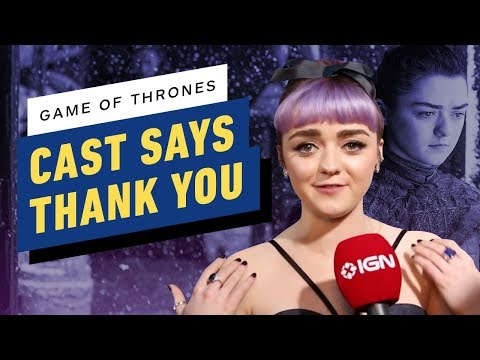 Game Of Thrones Cast Says 'Thank You' To The Fans