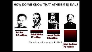 Ideologie entsteht im atheistischen Vakuum