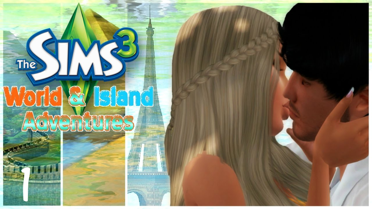 let 39 s play the sims 3 world adventures island paradise. Black Bedroom Furniture Sets. Home Design Ideas