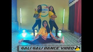 Gali Gali Dance Video Song KGF | Neha Kakkar #KDC Dance Academy