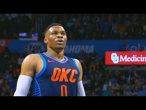 Russell Westbrook Returns and Thunder Crowd Goes Crazy! Thunder vs Kings