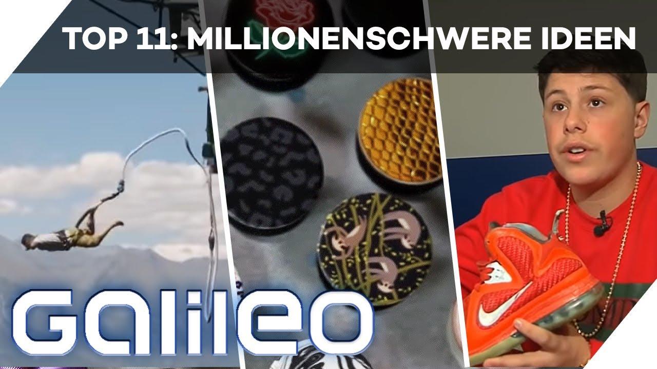 Mit nur 1 Idee reich werden? Diese Erfinder haben es geschafft! | Galileo 360° | ProSieben