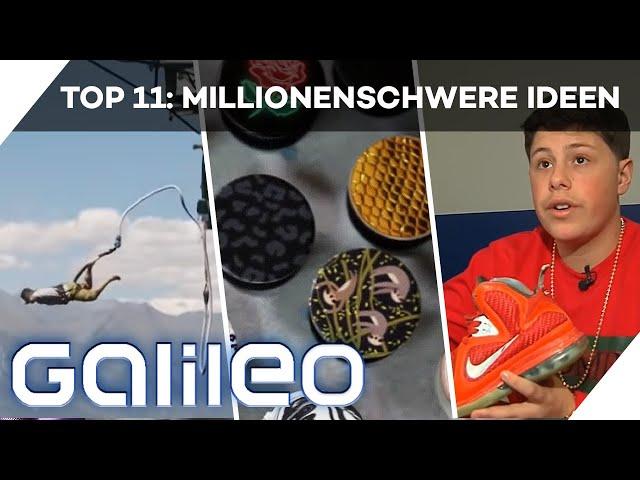 Mit nur 1 Idee reich werden? Diese Erfinder haben es geschafft!   Galileo 360°   ProSieben