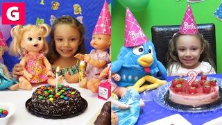 1 Hora Festa de Aniversário Baby Alive Galinha Pintadinha  Patrulha Canina Compilação