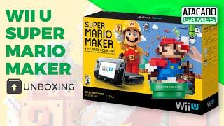 Super Mario Maker Deluxe Set Wii U bundle