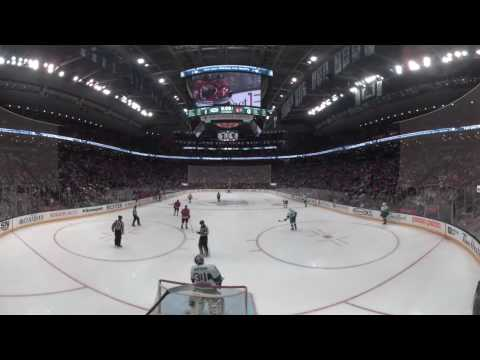 360º NHL Highlights: Hayden gets his first NHL goal to even game up against Maple Leafs