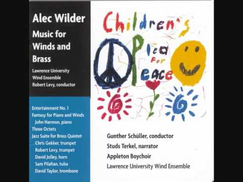"""ALEC WILDER: """"Fantasy for Piano and Wind Ensemble"""" (1974)"""