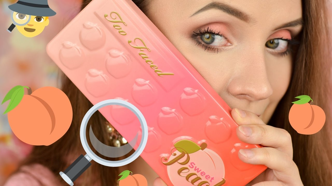 LIVE TEST :  Too Faced Sweet Peach