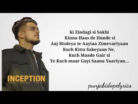 Inception - Robyn sandhu(official song) - latest punjabi songs 2020
