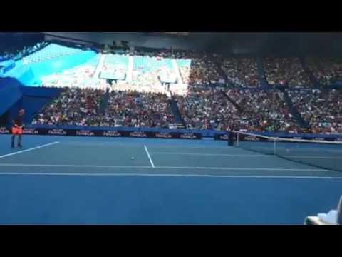 Roger Federer Practice Perth Australia 2016 Livestream