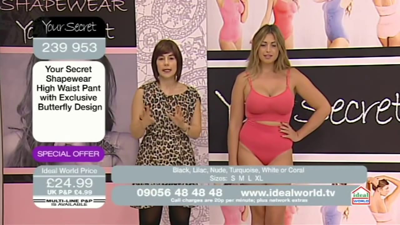 dbe3a1f6048e2 Your Secret Shapewear 28 08 12 - YouTube