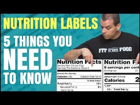 What you ought to Know of the Latest Diet Label