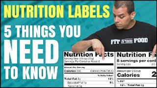 The Truth About Nutrition Labels / 5 Things You Need to Know / Healthy Hacks