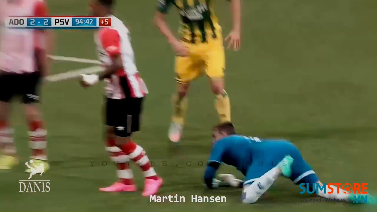 Khi thủ môn ghi bàn !!