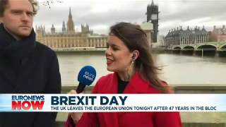 Interview with Euronews on 31 January 2020, discussing Brexit and UK-EU relations