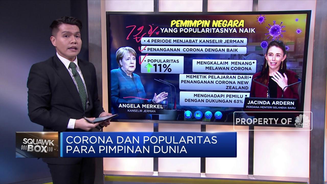 Corona dan Popularitas Para Pimpinan Dunia