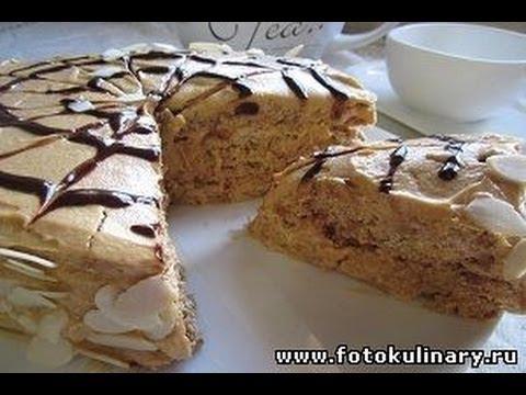 Рецепт -   Торт с безе и орехами (по мотивам Эстерхази )