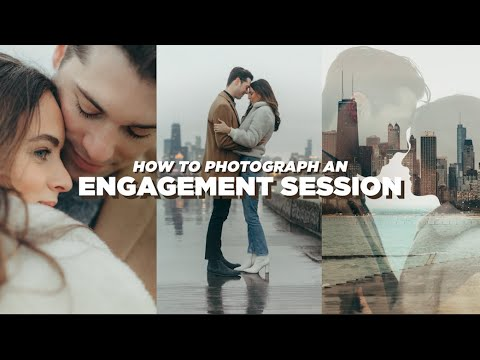 How to Photograph an Engagement Session (BEHIND THE SCENES)
