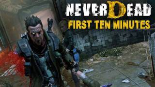 NeverDead - First 10 minutes (PS3)