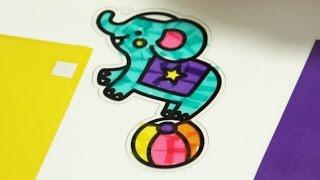 Украшаем Цирковых Животных – Развивающее Видео Для Детей детский канал Гуляшка entertainment