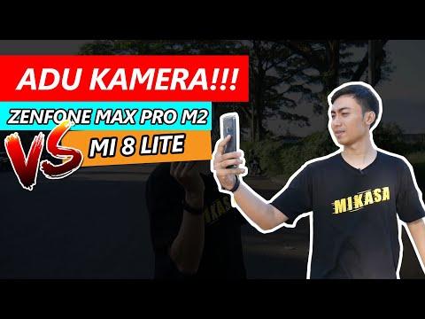 ADU KAMERA! ASUS Zenfone Max Pro M2 VS Xiaomi Mi 8 Lite - Begini Hasil Foto Dan Video