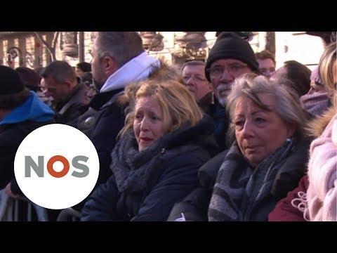 JOHNNY HALLYDAY: Massaal afscheid voor Franse rocker