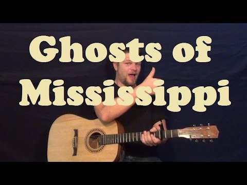 Ghosts of Mississippi (The SteelDrivers) Easy Strum Guitar Lesson Chords Licks How to Play Tutorial
