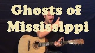 Ghosts of Mississippi (The SteelDrivers) Easy Strum Guitar Lesson Chords Licks How to Play Tutorial Mp3