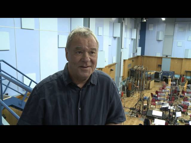 Recording Skyfall soundtrack at Abbey Road Studios-UK