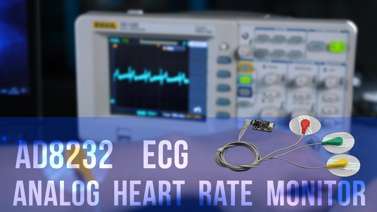 AD8232 Analogl Heart Rate Sensor/Single