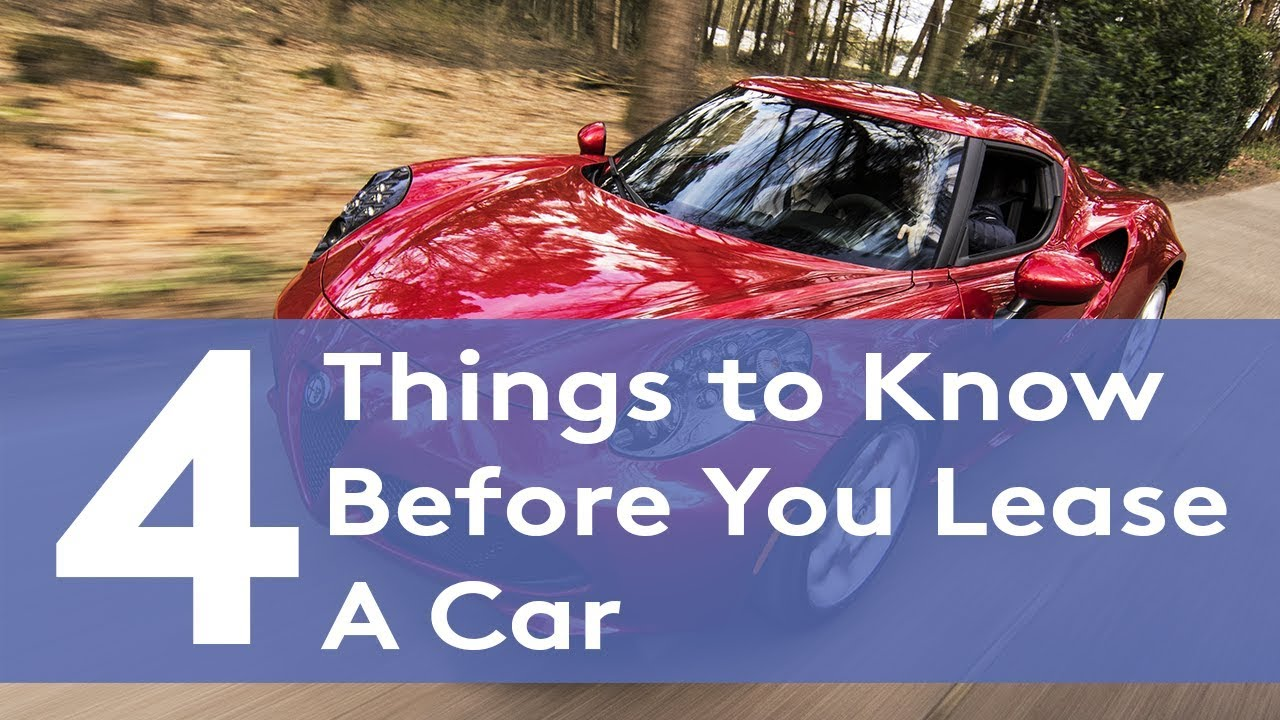 11 Things To Know Before You Lease A Car