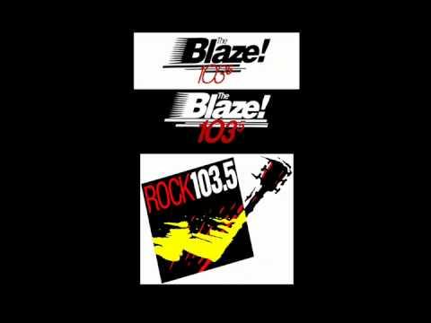 1035 The Blaze WWBZFM becomes ROCK 1035 WRCXFM July 1, 1994  Chicago Rock radio