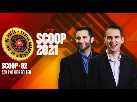 SCOOP-82-H: $5K PKO HIGH ROLLER ♠️ SCOOP 2021 ♠️ PokerStars